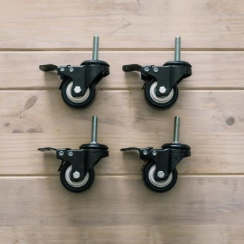 Caster wheel for Chronical 14/17 (set of 4)