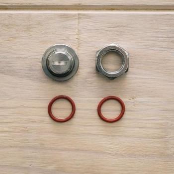 Ajustador con orificio de 17 mm para ollas