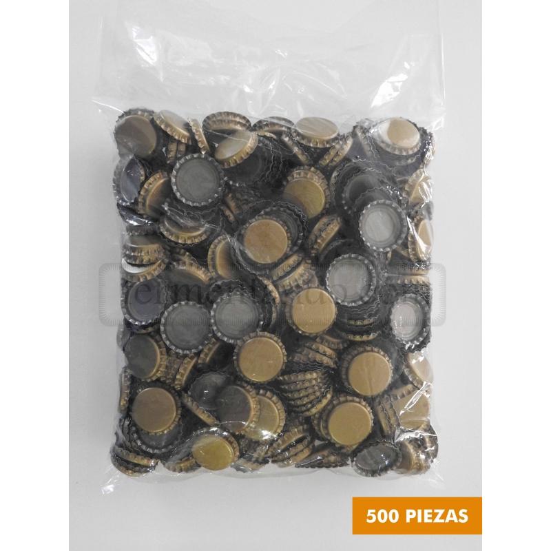 Corcholatas Doradas (500 pzas)