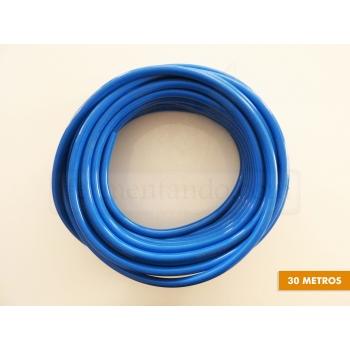 Manguera PVC 5/16 x 9/16 - Azul - (Rollo de 30 mts)