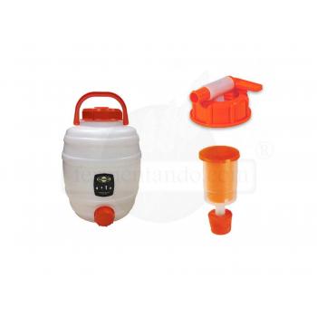 Kit de Fermentador de Plastico 12 litros