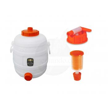 Kit de Fermentador de Plástico 20 litros
