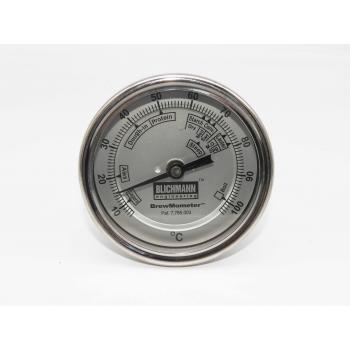 Termometro Fijo - Con Rosca para Cople de 1/2