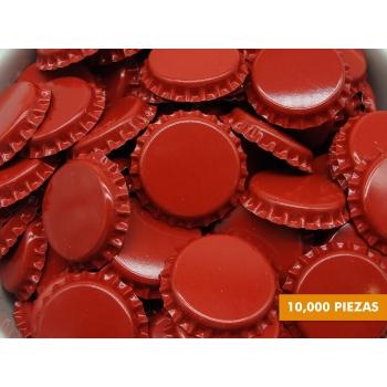 Corcholatas Lisas Rojas (Caja de 10,000)