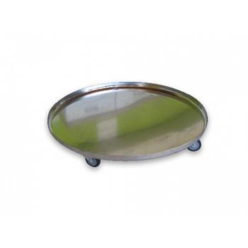 Base de Acero Inox con ruedas para Braumeister 200 lts
