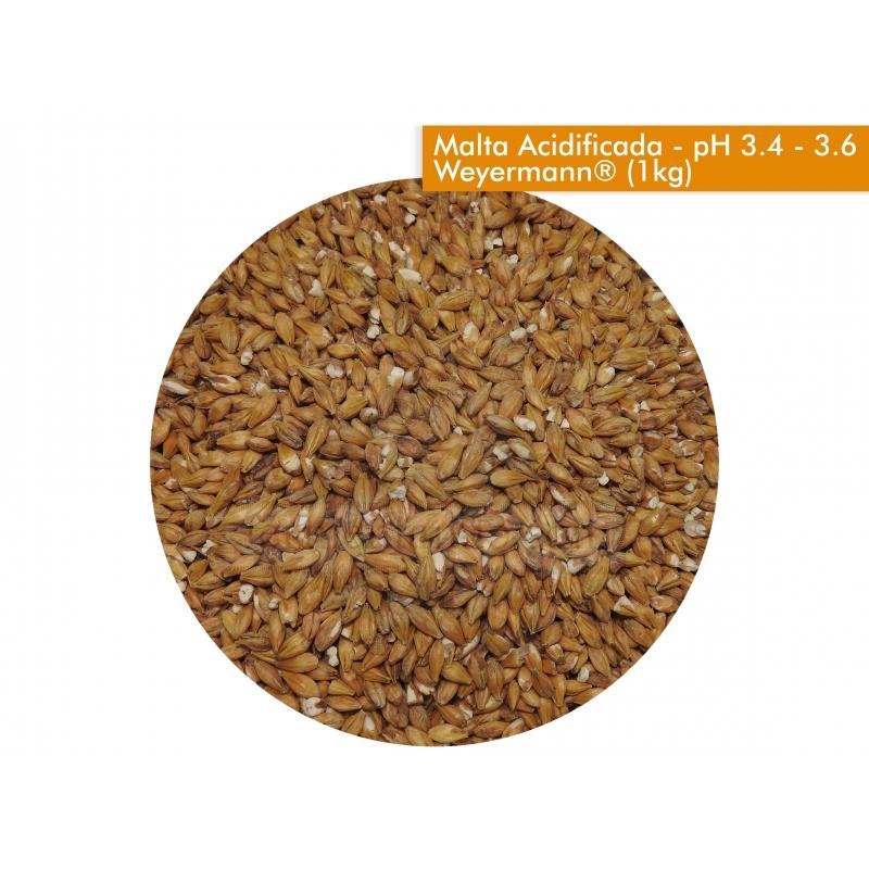 Malta Acidificada - pH 3.4 - 3.6 - Weyermann® - 1kg - Outlet