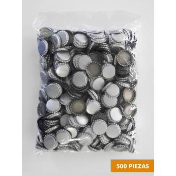 Corcholatas Plateadas (Absorbentes de Oxigeno) (500 pzas)