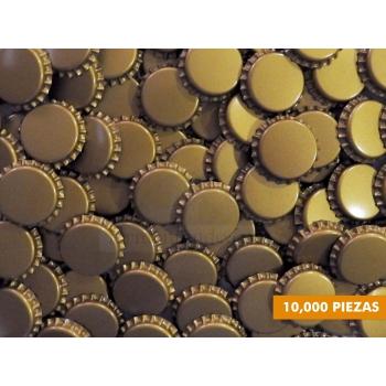 Corcholatas Doradas (Caja 10000 pzas)