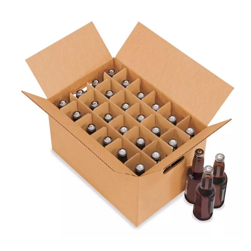 Caja para Botellas Reforzada  (No incluye botellas)