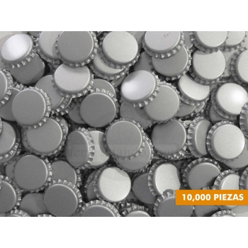 Corcholatas Plateadas  (Absorbentes de Oxigeno) (Caja 10000 pzas)