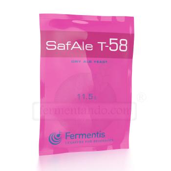 Levadura SafAle (Safbrew) T-58 -  Fermentis (11.5 g)