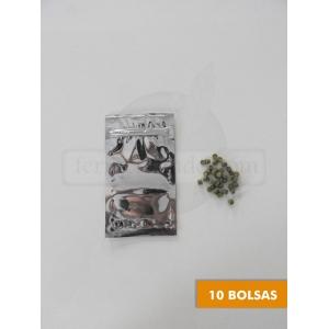 Bolsas Metalicas Ziplock Chicas 3x5 - 10 pzas