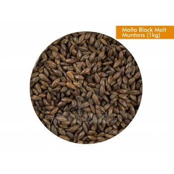 Muntons - Malta Black Malt - (1 Kg) - Outlet