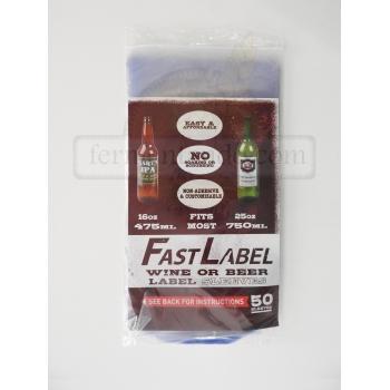 Fastlabel - Vino 22 oz (50 pzas)