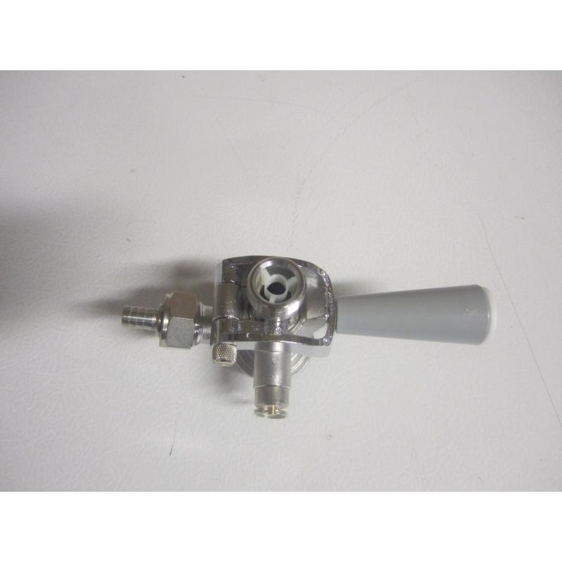Acoplador de Barriles Tipo D - Acero Inox