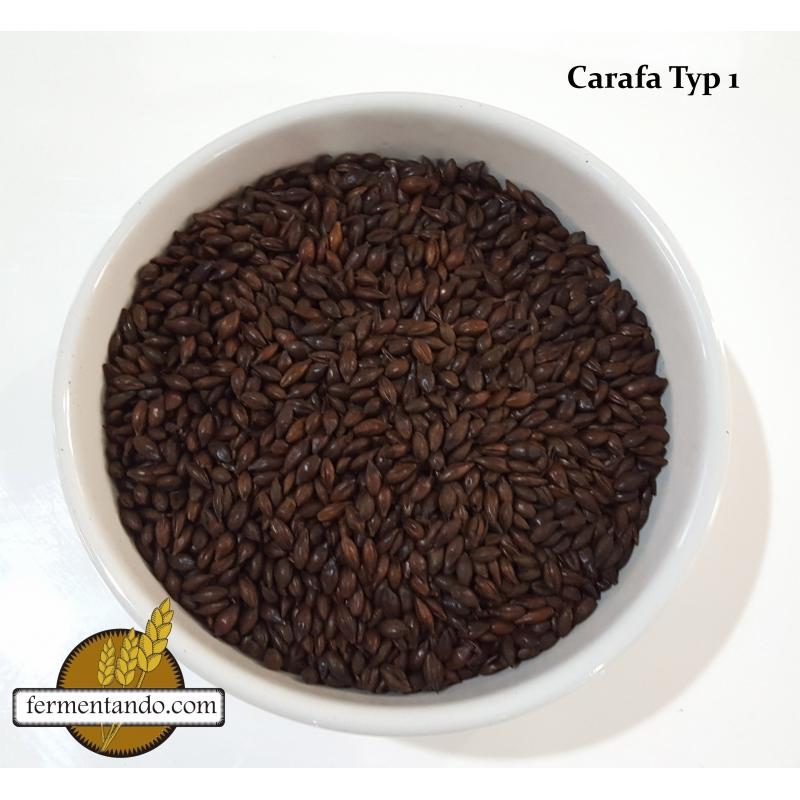 Malta CARAFA® Typ 1 (Chocolate 350) - Weyermann® - Costal de 25Kgs