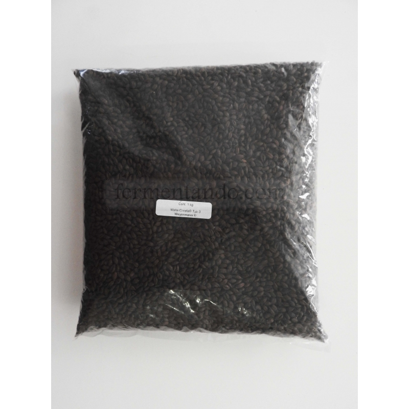 Malta CARAFA® Typ 3 (Negra) - Weyermann® - 1 Kg