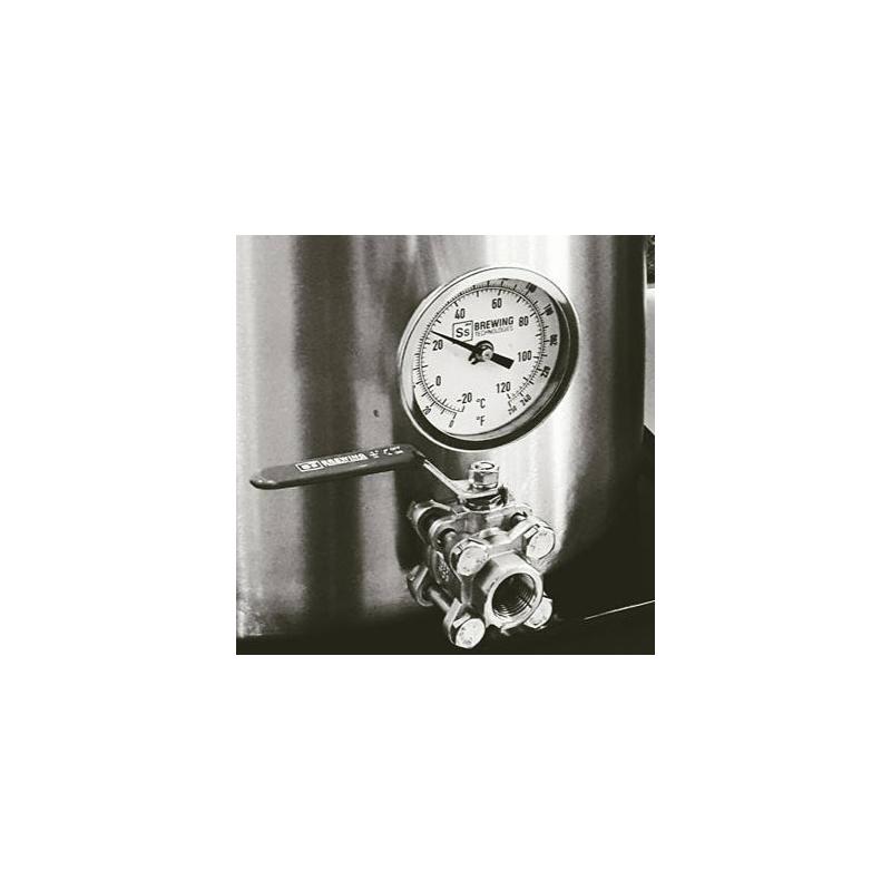 Termometro para Ollas SS Brewtech con acoplador