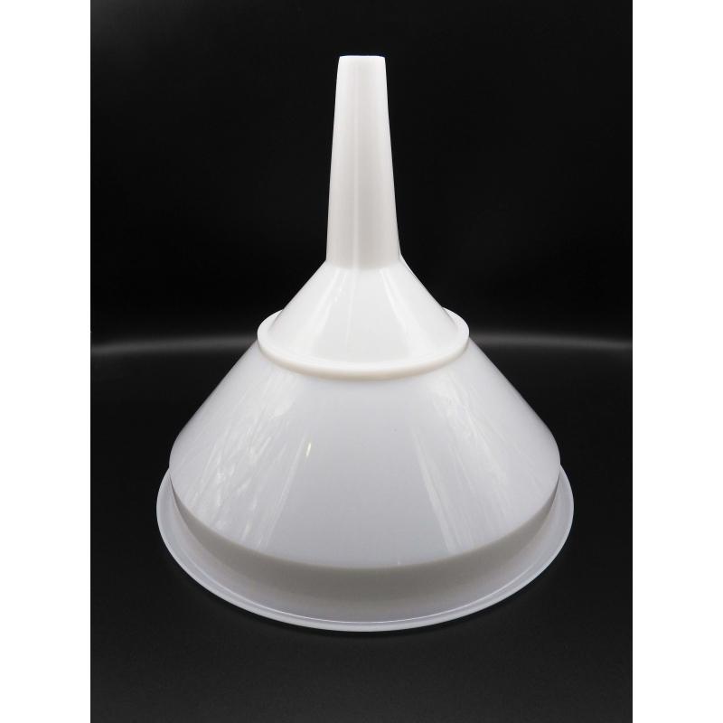 Embudo de Plastico con filtro - 15 cm